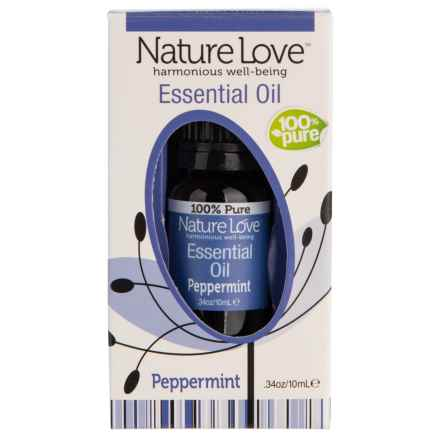 Nature Love Peppermint Essential Oil in Peppermint - Closeouts