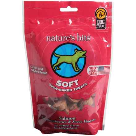 Nature's Bits Oven-Baked Soft Dog Treats in Salmon/Sweet Potato/Strawberry - Closeouts