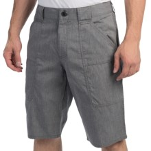 NAU Amble Shorts - Organic Cotton, Recycled Materials (For Men) in Cape Heather - Closeouts