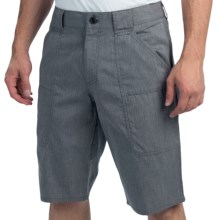 NAU Amble Shorts - Organic Cotton, Recycled Materials (For Men) in Indigo Heather - Closeouts