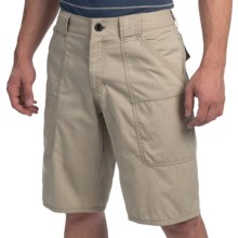 NAU Amble Shorts - Organic Cotton, Recycled Materials (For Men) in Poplar Heather - Closeouts