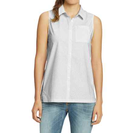 NAU Anti-Dot Sleeveless Top - Organic Cotton (For Women) in Pure Print - Closeouts