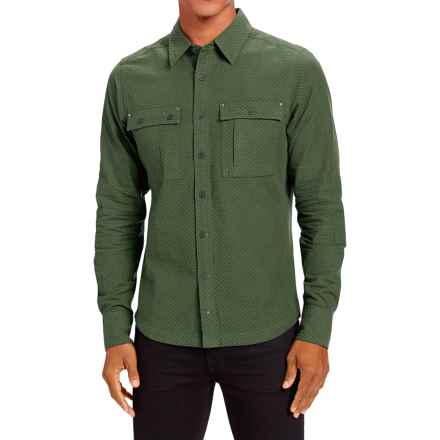 NAU Apprentice Shirt - Organic Cotton, Long Sleeve (For Men) in Hemlock - Closeouts