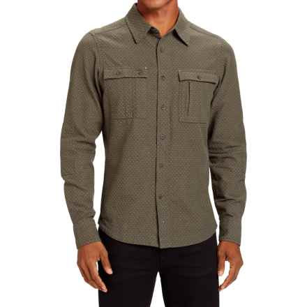 NAU Apprentice Shirt - Organic Cotton, Long Sleeve (For Men) in Tobac - Closeouts