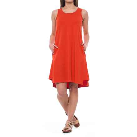 NAU Astir Tank Dress - UPF 50, Sleeveless (For Women) in Poppy - Closeouts