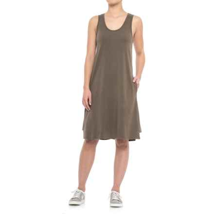 NAU Astir Tank Dress - UPF 50, Sleeveless (For Women) in Sable - Closeouts