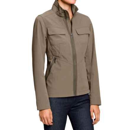 NAU Atelier Jacket (For Women) in Dark Khaki - Closeouts