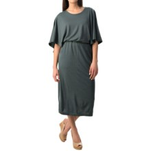 NAU Butterfly Dress - Merino Wool (For Women) in Basalt - Closeouts