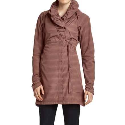 NAU Chrysalis Convertible Jacket Dress - Long Sleeve (For Women) in Ferment Stripe - Closeouts