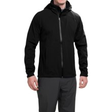 NAU Cranky Jacket - Waterproof (For Men) in Caviar - Closeouts