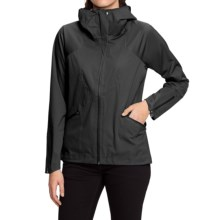 NAU Cranky Jacket - Waterproof (For Women) in Caviar - Closeouts