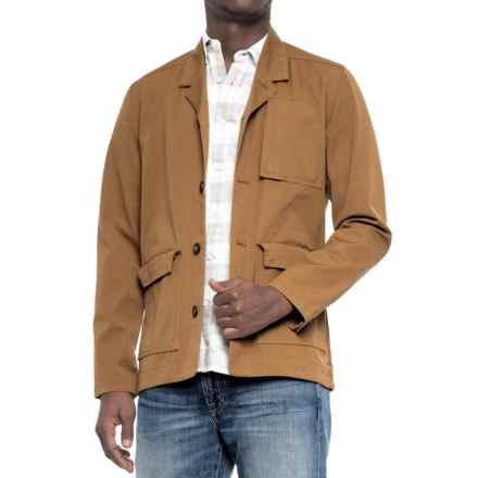 NAU Dayuse Blazer - Organic Cotton (For Men) in Canvas - Closeouts