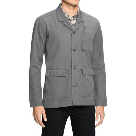 NAU Dayuse Blazer - Organic Cotton (For Men) in Cape - Closeouts