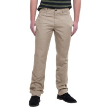 NAU Dayuse Chino Pants - Organic Cotton (For Men) in Khaki - Closeouts