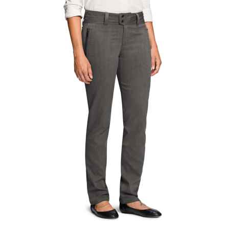 NAU Device Pants - Organic Cotton Blend (For Women) in Caviar Heather - Closeouts