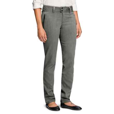 NAU Device Pants - Organic Cotton Blend (For Women) in Tar Heather - Closeouts