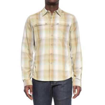 NAU Dissolve Shirt - UPF 30, Long Sleeve (For Men) in Agave Plaid - Overstock