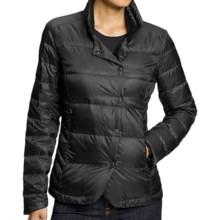 NAU Down Blazer Jacket - 800 Fill Power (For Women) in Caviar Stripe - Closeouts