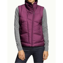 NAU Down Check Vest - 800 Fill Power (For Women) in Snapdragon - Closeouts