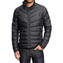 NAU Down Sweater Jacket - 800 Fill Power (For Men) in Caviar - Closeouts