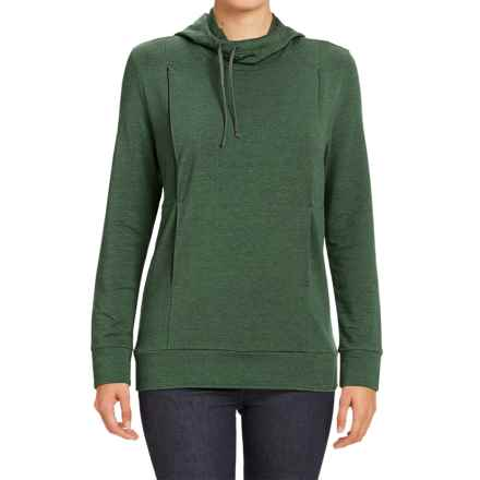 NAU Elementerry Hooded Shirt - Long Sleeve (For Women) in Meadow - Closeouts