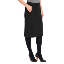 NAU Elementerry Skirt - Organic Cotton Blend (For Women) in Caviar - Closeouts