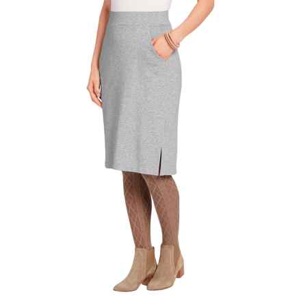 NAU Elementerry Skirt - Organic Cotton Blend (For Women) in Zinc Heather - Closeouts
