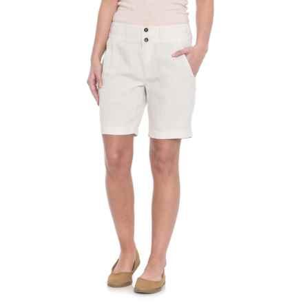 NAU Flaxible Long Shorts (For Women) in Bone - Closeouts