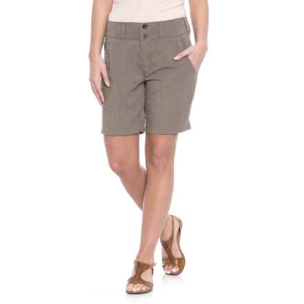 NAU Flaxible Long Shorts (For Women) in Sable - Closeouts