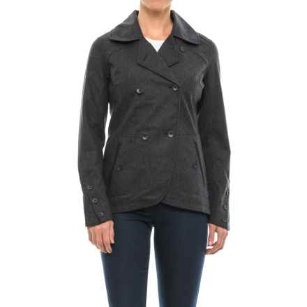 NAU Highline Blazer - Wool Blend (For Women) in Caviar Heather - Closeouts