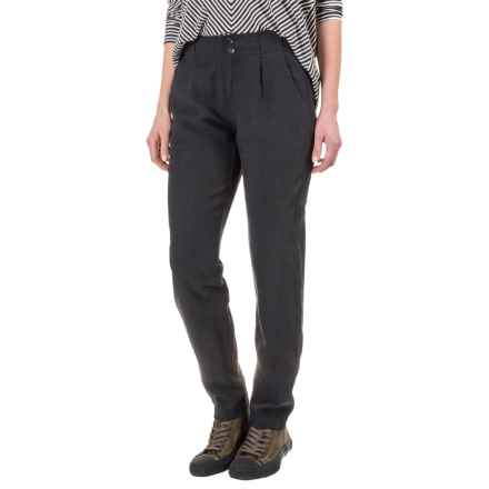 NAU Inte-Great TENCEL® Linen Pants (For Women) in Caviar - Closeouts