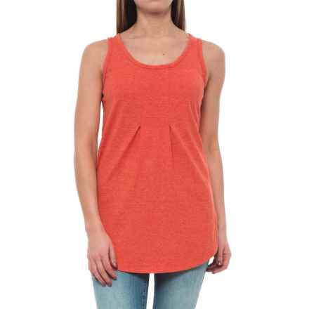 NAU Kanab Hemp-Organic Cotton Tank Top (For Women) in Poppy Heather - Closeouts