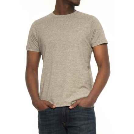 NAU Kanab T-Shirt - Short Sleeve (For Men) in Sable Heather - Overstock