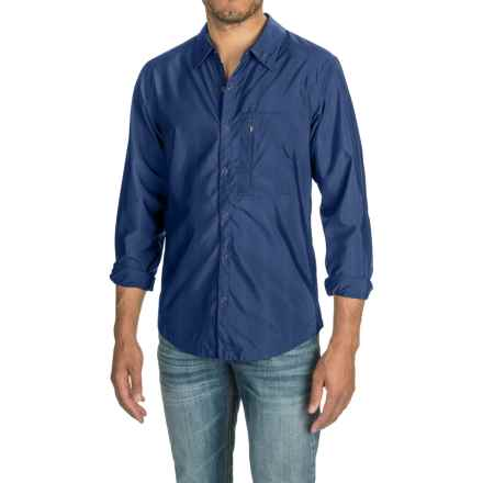 NAU Lightbeam Windshirt - Long Sleeve (For Men) in Cosmic Stripe - Closeouts