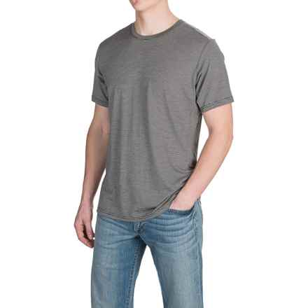 NAU M2 T-Shirt - Short Sleeve (For Men) in Caviar Stripe - Closeouts