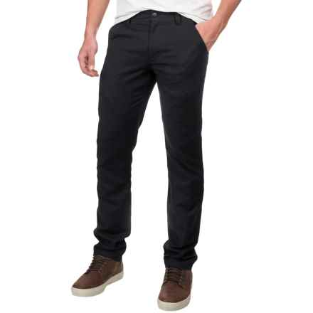 NAU Motil Cargo Pants - Organic Cotton (For Men) in Caviar - Closeouts