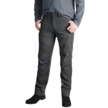 NAU Motil Pants - Organic Cotton Blend (For Men) in Caviar Heather - Closeouts