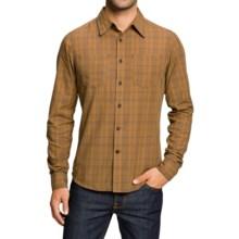 NAU Penumbra Shirt - Organic Cotton, Long Sleeve (For Men) in Canvas Plaid - Closeouts
