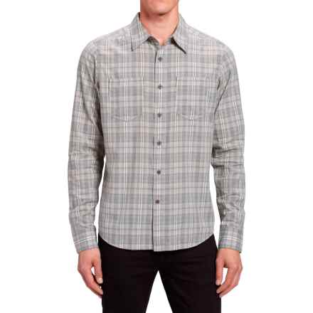 NAU Penumbra Shirt - Organic Cotton, Long Sleeve (For Men) in Cape Plaid - Closeouts