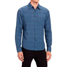 NAU Penumbra Shirt - Organic Cotton, Long Sleeve (For Men) in Downpour Plaid - Closeouts