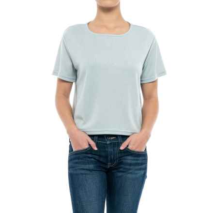 NAU Randygoat Lite Shirt - Short Sleeve (For Women) in Frost - Closeouts