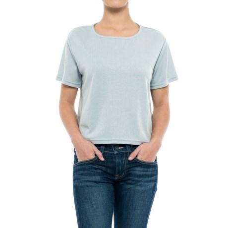 NAU Randygoat Lite Shirt - Short Sleeve (For Women) in Frost