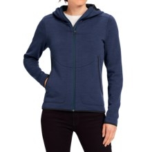 NAU Randygoat Plus Hoodie - Full Zip (For Women) in Prussian Heather - Closeouts