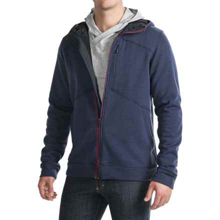 NAU Randygoat Plus Hoodie - Merino Wool (For Men) in Prussian Heather - Closeouts