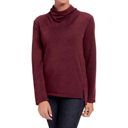 NAU Randygoat Slouchy Sweater (For Women) in Adobo Heather - Closeouts