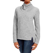 NAU Randygoat Slouchy Sweater (For Women) in Zinc Heather - Closeouts