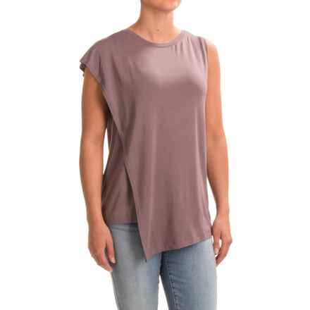 NAU Repose Faux-Wrap Tank Top (For Women) in Sparrow - Closeouts