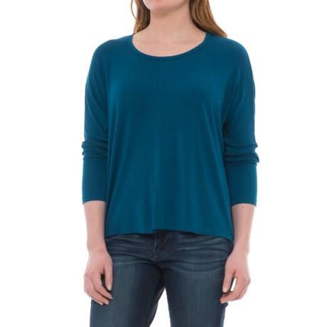 NAU Repose Maitye Shirt - 3/4 Sleeve (For Women) in Downpour