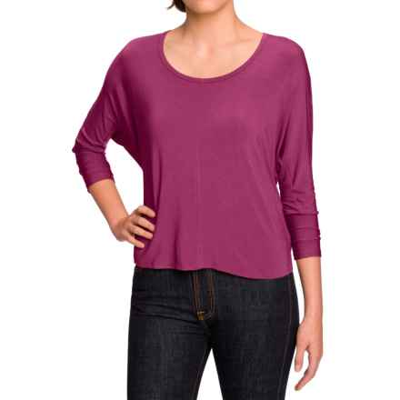 NAU Repose Maitye Shirt - 3/4 Sleeve (For Women) in Snapdragon - Closeouts
