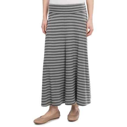NAU Repose Skirt - Micromodal® (For Women) in Cape Stripe - Closeouts
